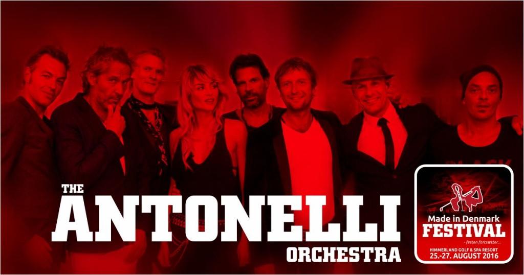 The Antonelli Orchestra + Friends skal også til Made in Denmark | 19hul.dk - golf